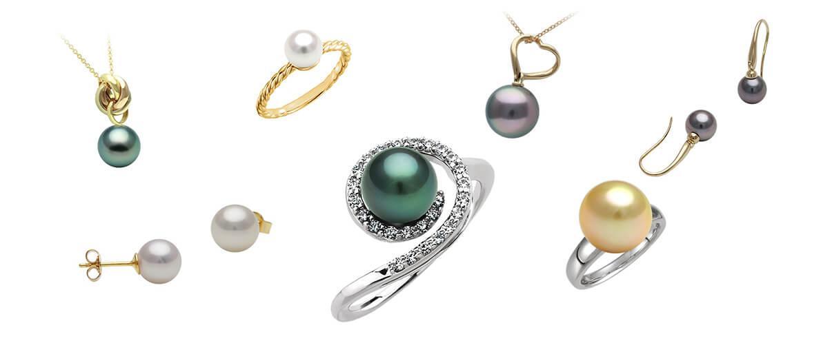 Collection de bijoux Opéra Perles