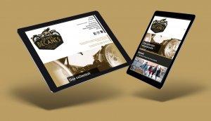 La création d'un site internet pour le musée de la moto par Mars Rouge. www.lagrangeabecanes.com