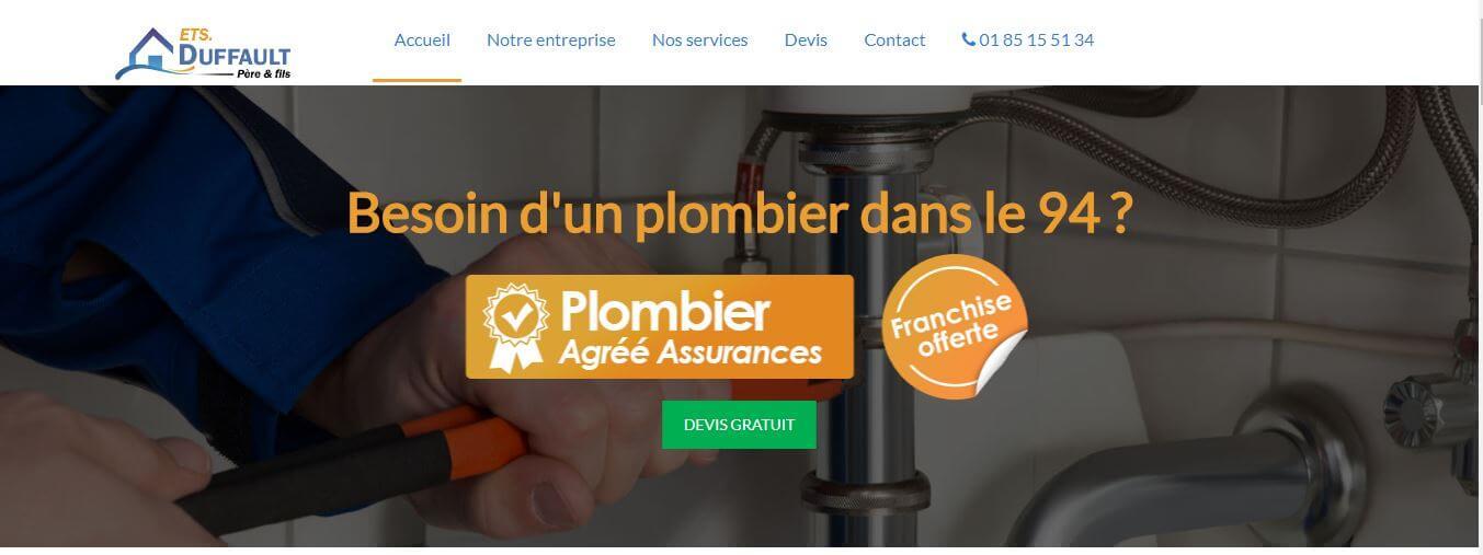 Plombier 94